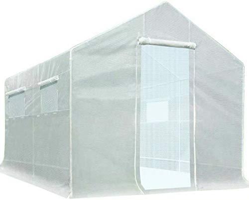 Quictent 10'x9'x8' 2 Doors Portable Greenhouse Large Walk-in Green Hot Garden House
