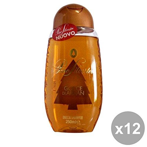 Set 12Kiefer Sylvaner Dusche Tropfen von Argan 250ml. Seifen und Kosmetik