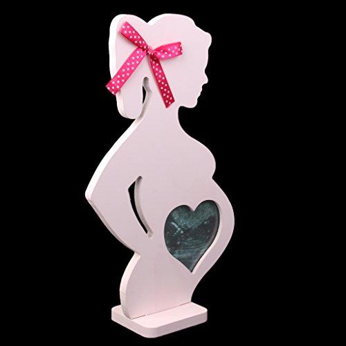 PETSOLA Ultraschall Bilderrahmen Ultraschallbild Baby Bild Rahmen Schwangerschaft