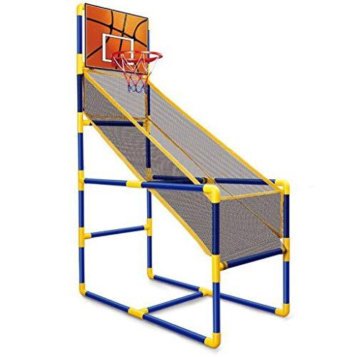 LYH Basketball-Arcade-Spiel für Kinder - Arcade-Basketball-Spiel, Einzelschuss-Innenschießanlage mit Mini-Hoop, Ball und Pumpe für Kinder - Tolles Geschenk für Jungen