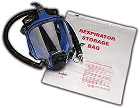 Allegro 2000 Respirator Storage Bags, Half/Full Mask, Large, Clear