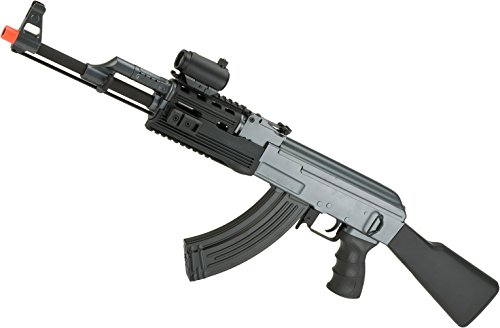 Evike - Matrix AK47 Tactical Airsoft AEG Rifle w/RIS Handguard & Lipo Ready Metal Gearbox by CYMA