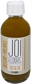 Joi Elixirs Turmeric Shots - 6-Pack, Wellness Energy Juice Shot, Herbal Tonic, Turmeric Lemon, Juice Shots – 2 Fl Oz, Six Pack