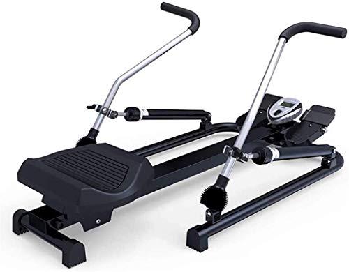 YLJYJ Máquina de remo hidráulica multifunción doméstica, máquina de remo para fitness, máquina de remo estable, rotación de ejercicios, fitness, equitación, spinning