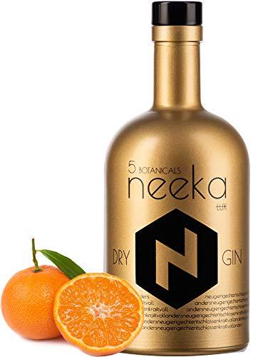 neekaLUX *SONDEREDITION*   Mandarinen Gin   Handcrafted in Black Forest   0.5 L