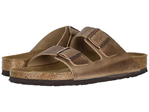 Birkenstock Arizona Soft Footbed - Leather (Unisex) Tobacco 36 (US Women's 5-5.5) Regular