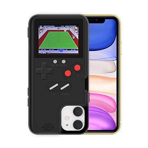 Hamkaw Game Custodia per iPhone, Retro Cover per iPhone 3D, 36 Giochi Piccoli, Display a Colori, Custodia Antiurto Protettiva Videogiochi per iPhone 11 PRO Max/iPhone 11 PRO/iPhone 11