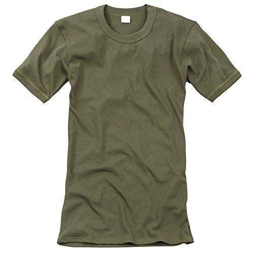 Black Snake Original Unterhemd T-Shirt der Deutschen Bundeswehr Unterziehhemd in verschiedenen Größen Oliv 10 / 4XL