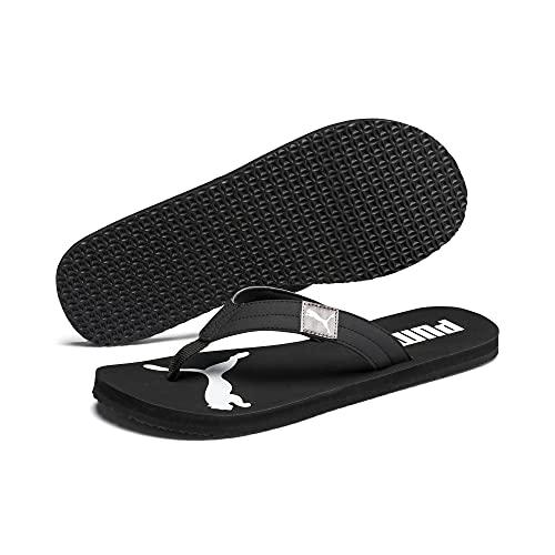 Puma Cozy Flip Sandalen Flip Flops (black/castle, numeric_43)