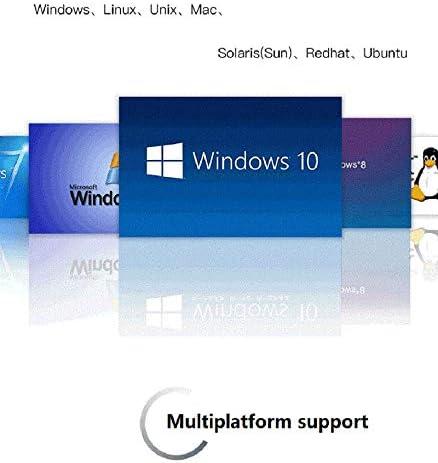 Kinan 2 Port USB 3.0 DisplayPort KVM Switch 4K DP KVM Switch Dual Ports Desktop KVM Switches 1 Set of Keyboard Video Mouse Control 2 Computers Laptops PCs Share Keyboard Mouse Monitor Via Hotkey