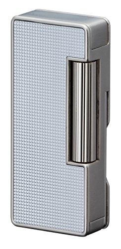 Sarome psd37–03Flint Feuerzeug, W//silber Lattice alumite