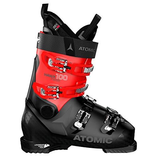 Atomic HAWX Prime 100 Chaussures de Ski Mixte Adulte - Noir - Noir, Rouge, 42 EU EU
