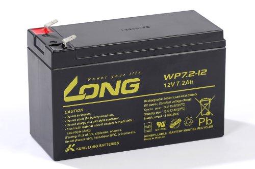 Kung Long 12V 7,2Ah WP7,2-12 Bleigel Akku Gel Batterie *VDS geprüft*