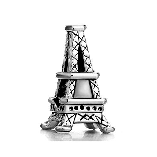 Korliya Landmark Series Paris Eiffel Tower Charm Bead for Bracelet