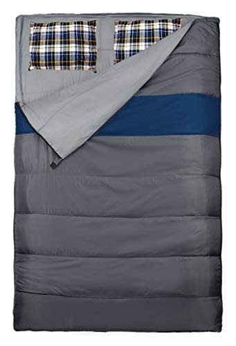 Explorer Slaapzak, 220 x 150/75 cm, duo dekenslaapzak, dubbele slaapzak, ook als 2 afzonderlijke slaapzakken te gebruiken, zomerslaapzak, -0 °C, outdoor camping