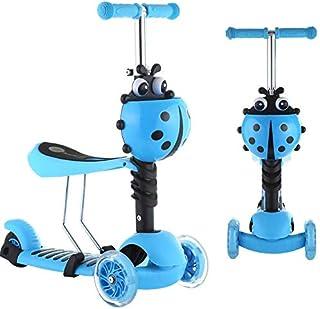 سكوتر اطفال ( 3 في 1 ) عجلات مضيئة