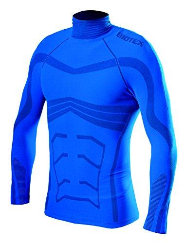 BIOTEX Powerflex Warm, Unterhemd Herren, Herren, Powerflex Warm, 05 Blu Royal
