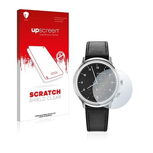 upscreen Schutzfolie kompatibel mit Mondaine Helvetica No1 2nd time Zone (40 mm) – Kristallklar, Kratzschutz, Anti-Fingerprint