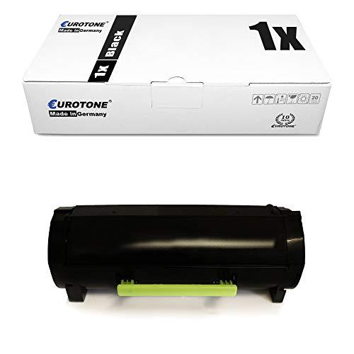 Toner Eurotone compatibile per Lexmark MS317dn MS317n MS417dn MS517dn MS617dhn MS617dn MX317dn MX417de MX517de sostituito 51B2000 Nero con ca. 2.500 Lati