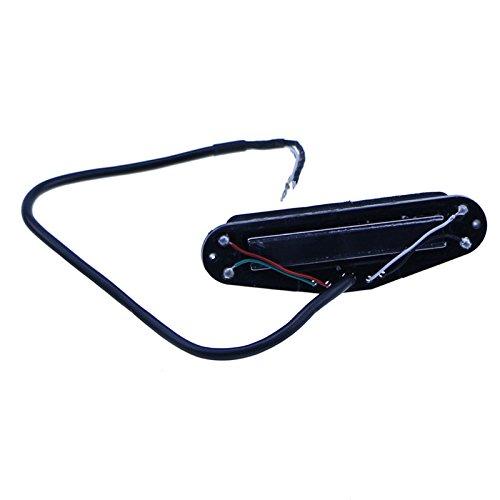 Electric Guitar Neck Pickup 4 Wires Dual Hot Rail Humbucker Guitar Pickups Black