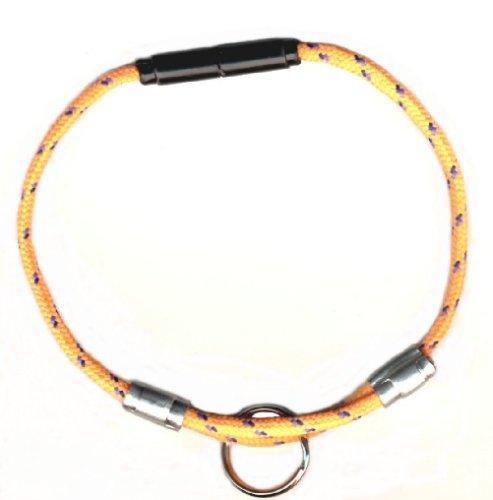 National Leash Sicherheitshalsband für Katzen, verstellbar, mit Sicherheitsverschluss, Orange