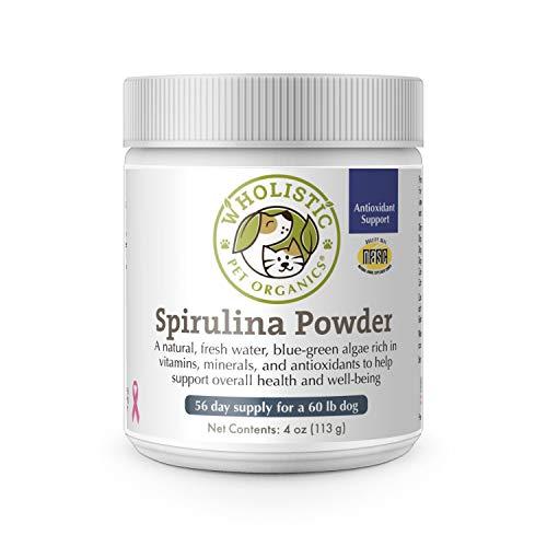 Wholistic Pet Organics Spirulina for Dogs 4 oz.