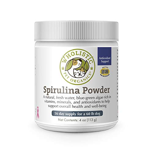 Wholistic Pet Organics Spirulina for Dogs,4 oz.