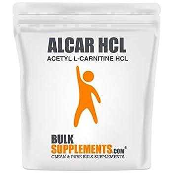 BulkSupplements.com ALCAR HCl  Acetyl L-Carnitine HCl  - Brain Focus Supplements - L-Carnitine Powder  250 Grams