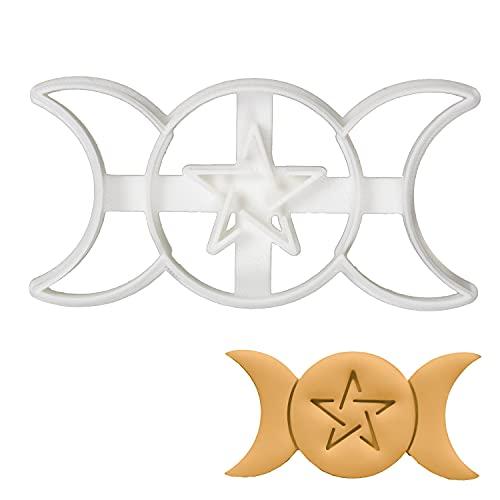 Triple Goddess cookie cutter, 1 piece - Bakerlogy