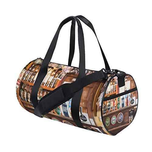 MONTOJ Bartheke Cool Beer Duffel Bag Large Gym Duffle Bag