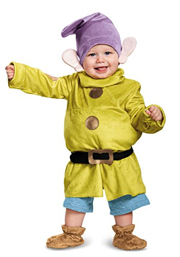 Deluxe Dopey Baby Infant Costume - Baby 6-12