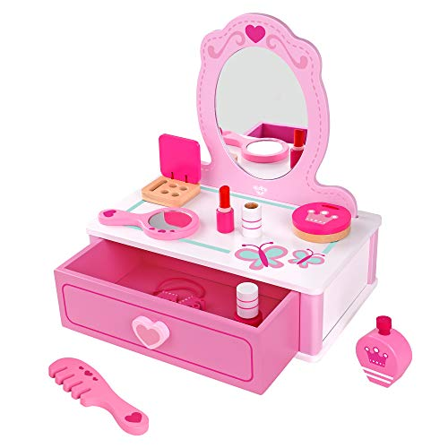 Fat Brain Toys Pretend & Play Makeup Station Imaginative Play for Ages 3 to 5