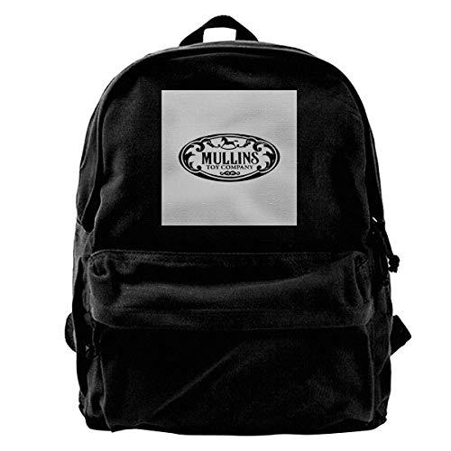 Mochila de lona, moderna, informal, para llevar en el colegio de Annabelle Creation The Conjuring Rucksack Gym Hiking Laptop Shoulder Bag Daypack for Men Women