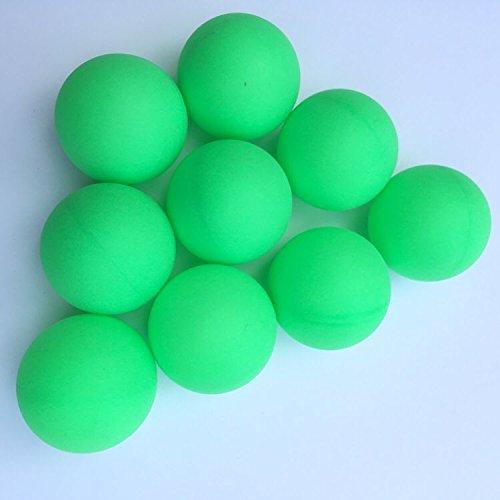 Yoran Bier Ping Pong Bälle sortierte Farbe pp. Tischtennis-Ball-Spiel, das Haustier-Ball 150pcs Leuchtstoffgrün spielt