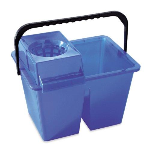 Homexpert MSV v460515Cubo Doble plástico Azul 40x 30x 30cm