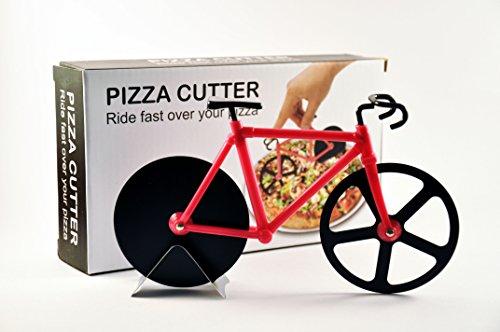 WW-Rotella per Pizza, per bici da strada, motivo: Rosa