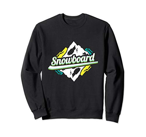 Snowboard Boarder Snowboarder Wintersport Ski Skiurlaub Sweatshirt