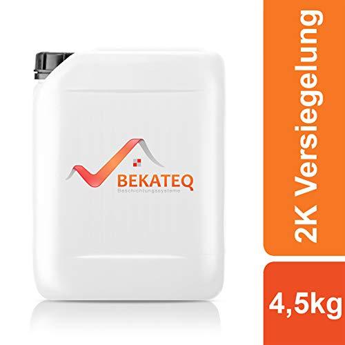 BEKATEQ 2K Epoxidharz Bodenversiegelung und -grundierung BK-400EP - 4,5KG