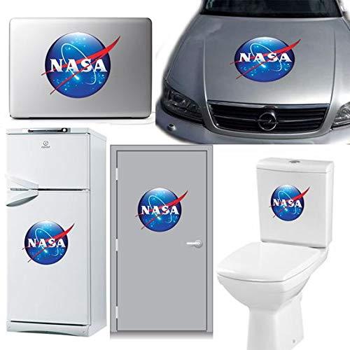 DONL9BAUER NASA calcomanía de la NASA, pegatina para portátil, pegatina para puerta, calcomanía para coche, pegatina para refrigerador, espacio