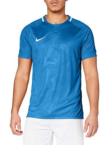 Nike Herren Dry Challenge II Football Jersey T-Shirt, Black/White, L