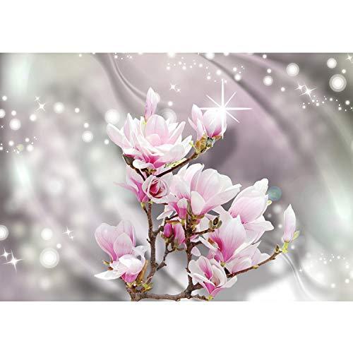 Vlies Fototapete PREMIUM PLUS Wand Foto Tapete Wand Bild Vliestapete - Kirschblüte Kirschbaum Blüte Pflanze Schatten - no. 2433, Größe:368x254cm Vlies