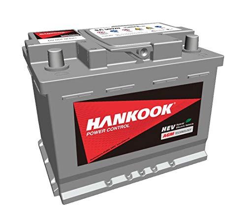 Hankook AGM 560 20 Start-Stop auto-accu 60Ah 680A/EN, onderhoudsvrij