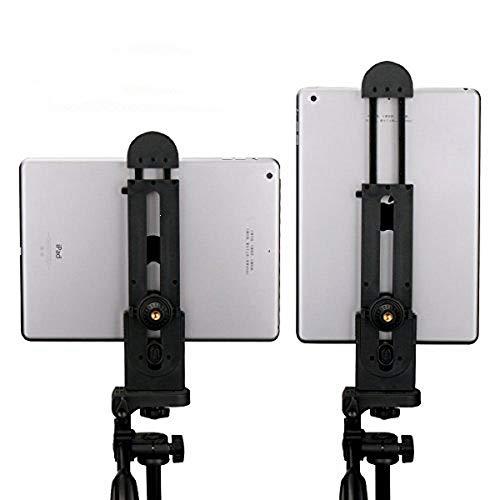 Adattatore per treppiedi universale Ulanzi per tablet, supporto per morsetto per pad Compatibile con iPad Pro Air Mini, superficie MS e telefoni, supporto per treppiedi da tavolo