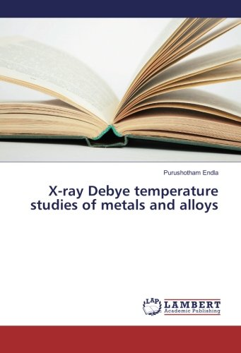 X-ray Debye temperature studies of metals and alloys