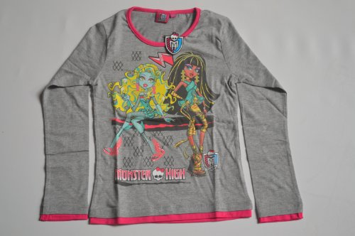 MONSTER HIGH camisa, SZ. 152, gris