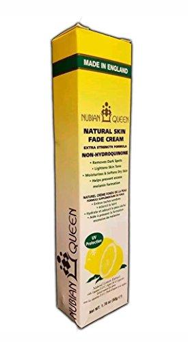 Nubian Queen Peau naturelle Citron fondu Crème extra fort 50g