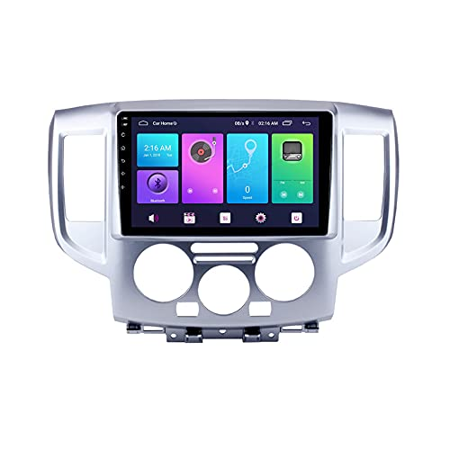WHL.HH Vehículo Electrónica para NI SSAN NV200 2010-2018 Radio FM WiFi GPS Carro Multimedia GPS Navegación Revertir Imagen Android 10.0 Video Receptor DVD Jugador Apoyo,S2