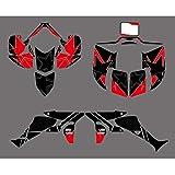 Etiquetas ENGOMADAS Gráficos Kits Fit de Honda 450R TRX450R FourTrax ATV Motocross Pegatinas