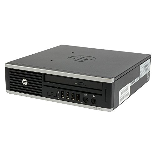 HP Compaq Elite 8300 Desktop, Intel Core i5, 2.9GHz, 8GB RAM, 320GB HDD, DVD-RW, Win10Pro (Reacondicionado)