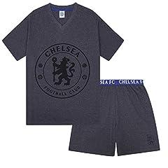 Chelsea FC Pijama Corto para Hombre Gris